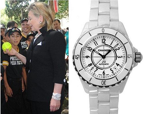 hillary-clinton-seen-wearing-chanel-j12-diamond-watch